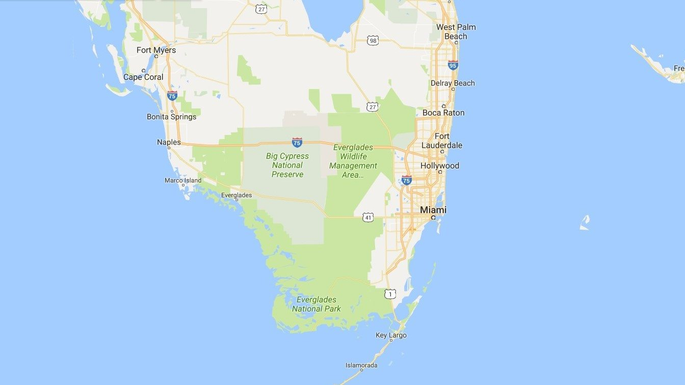miami e região em mapas - conheça as cidades ao redor!